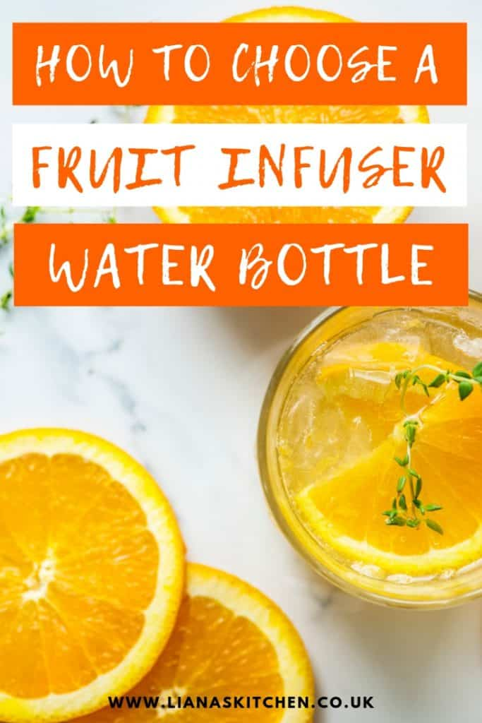 how to choose the right fruit infuser bottle for you