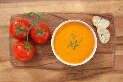 Tomato and Basil Soup Recipe