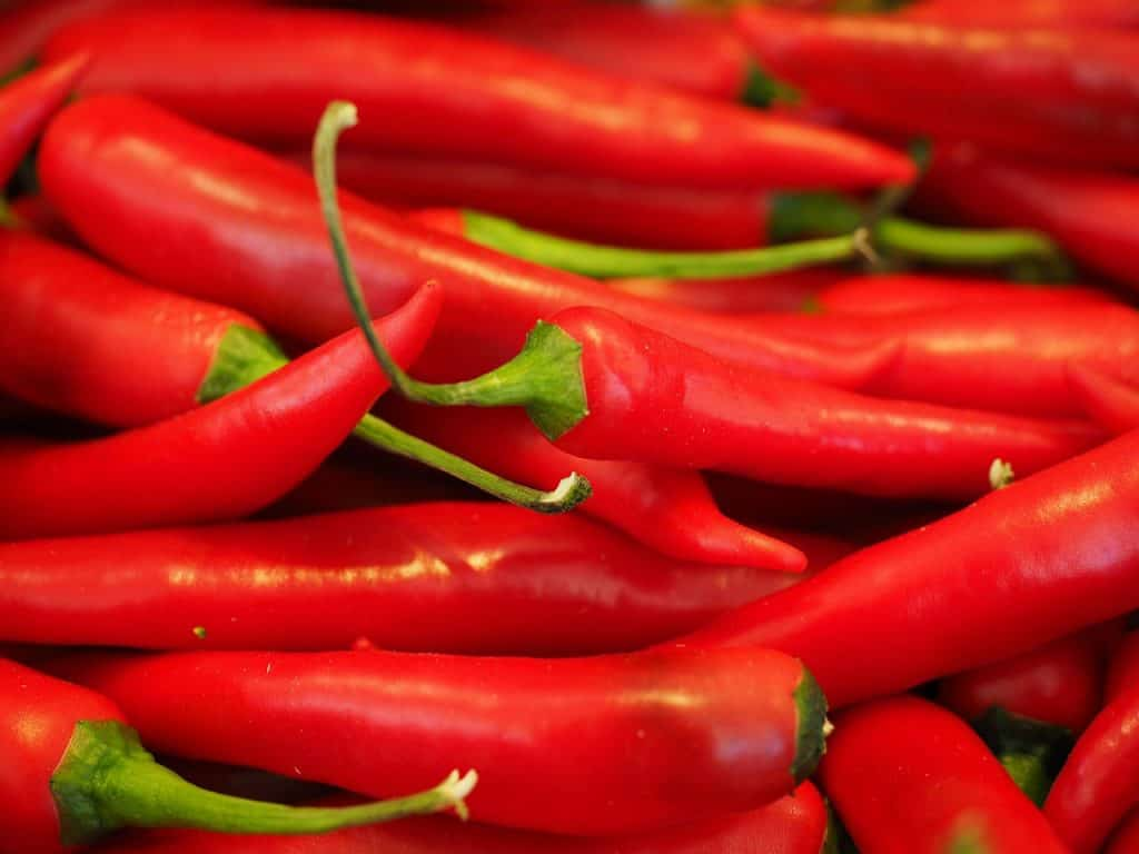 acceptability of chili capsicum in making spring Read chapter 2 naturally occurring carcinogens and anticarcinogens in the  naturally occurring carcinogens and anticarcinogens  chili peppers (capsicum.