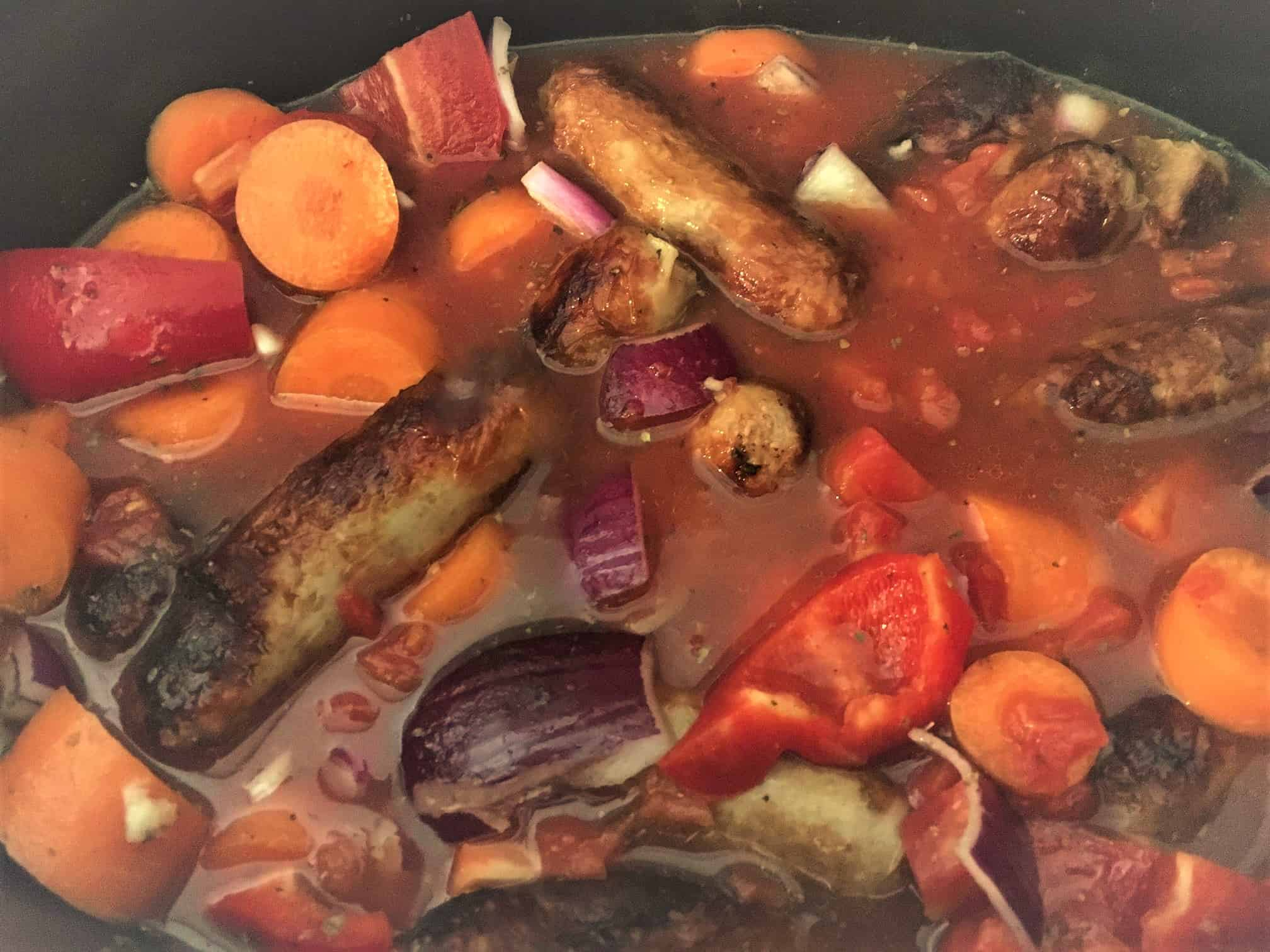 sausage casserole slow cooker