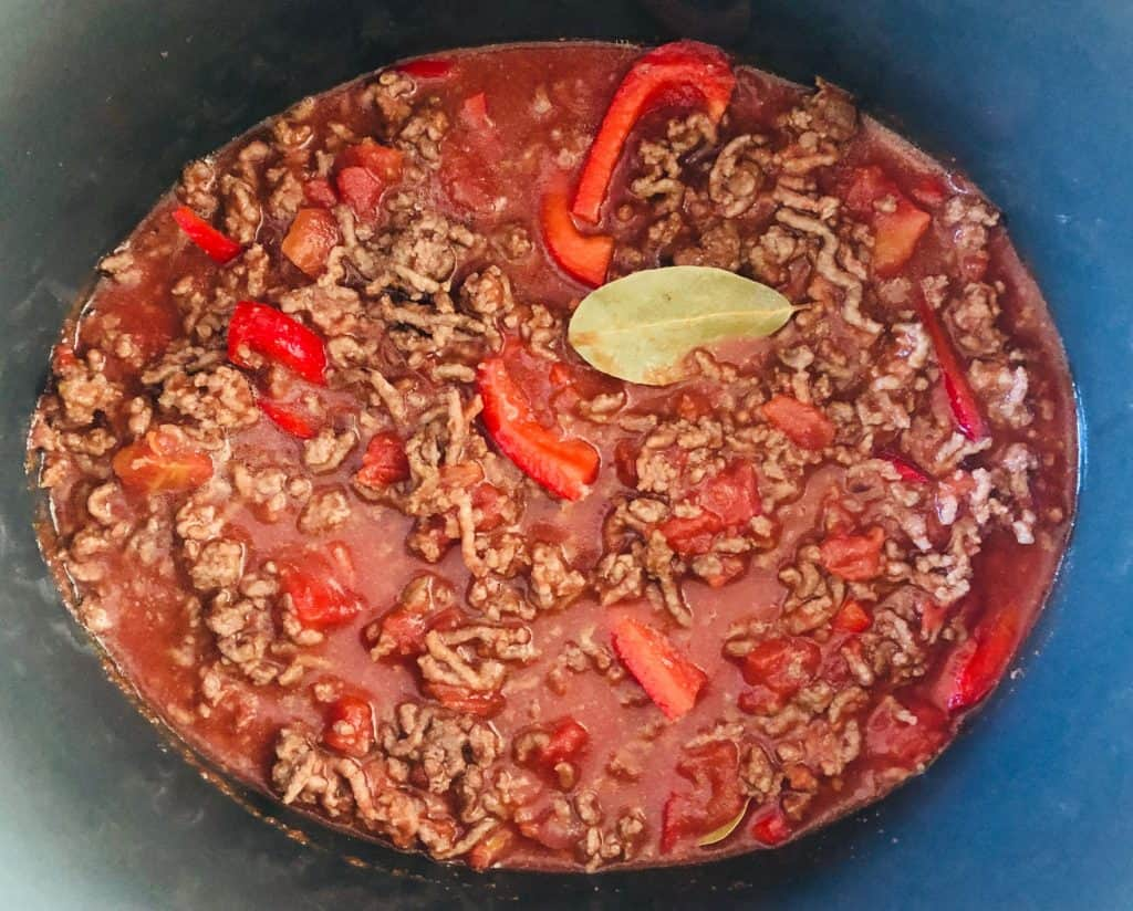 bolognese in a slow cooker