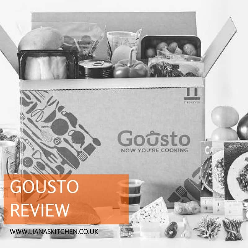 Gousto Meal Box Review