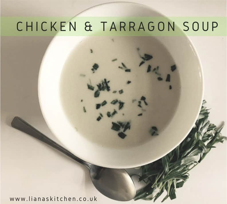 Chicken and Tarragon Soup Maker Recipe