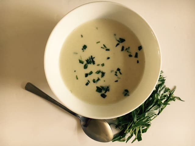 Chicken and Tarragon soup
