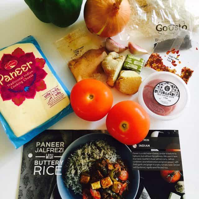 Gousto Review – The Vegetarian Box