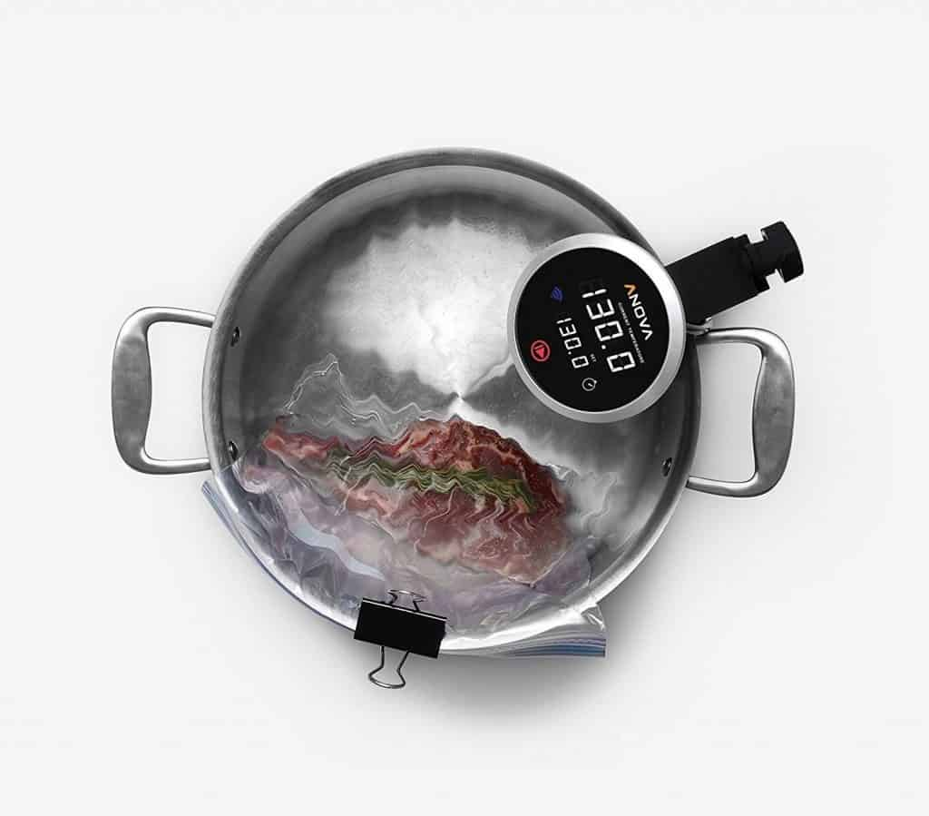 using a sous vide machine at home liana 39 s kitchen. Black Bedroom Furniture Sets. Home Design Ideas