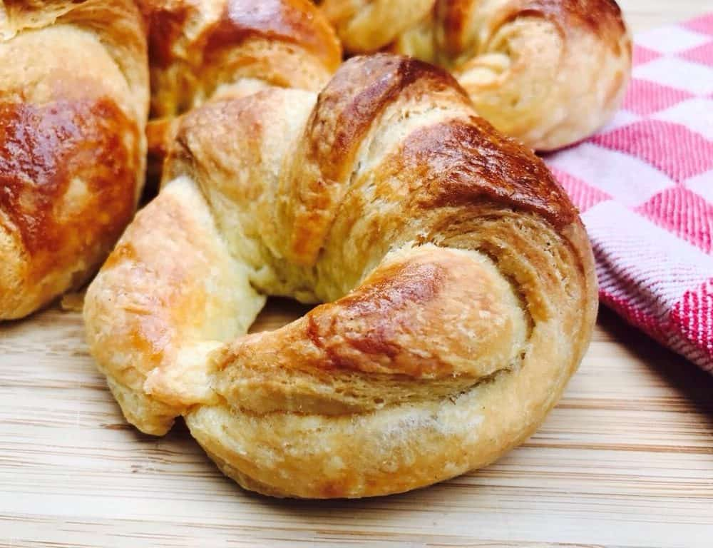 Bread Machine Croissants
