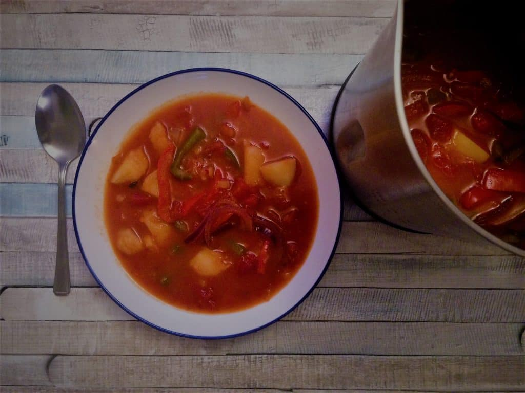 Spanish Potato Soup