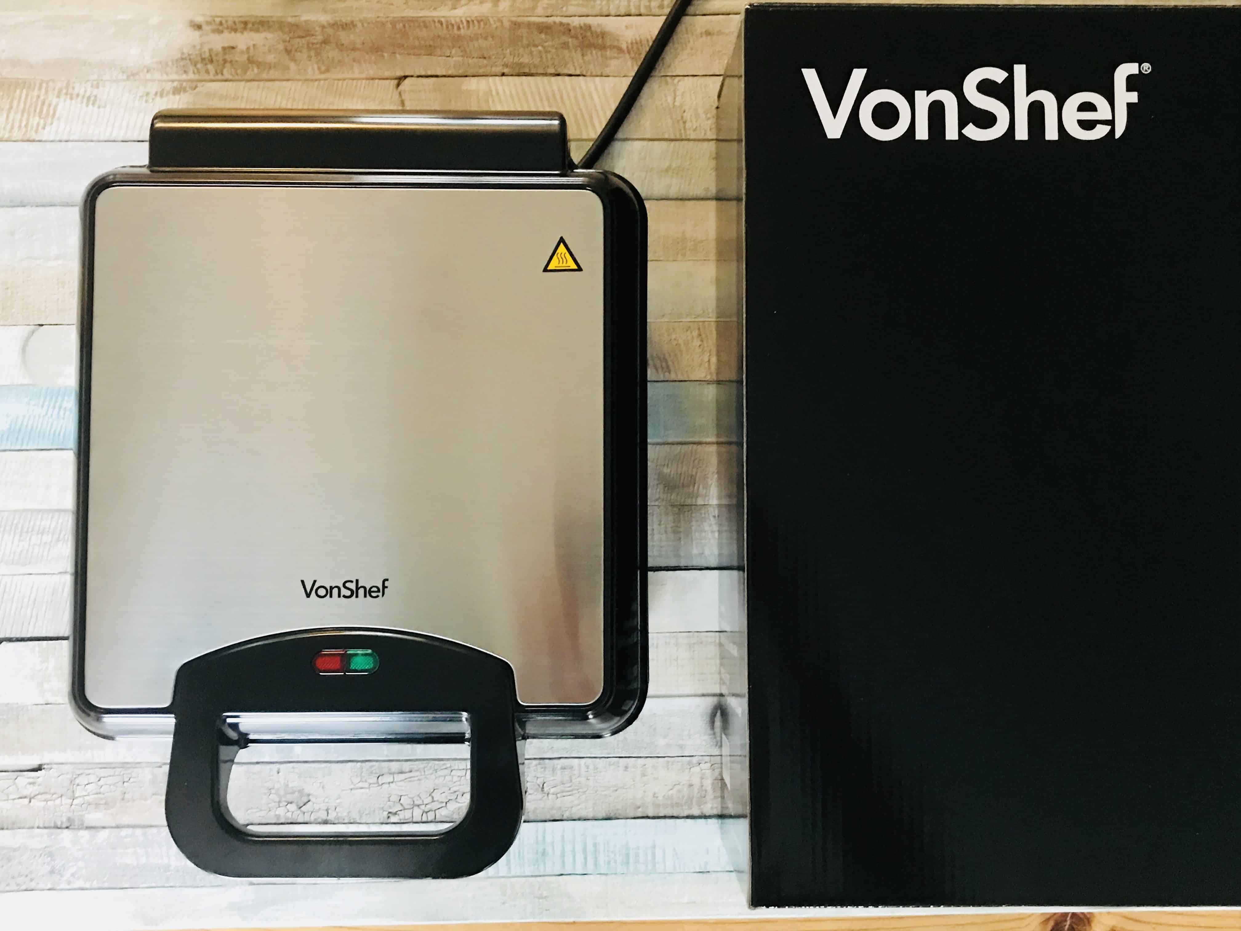 VonShef Waffle Maker Review
