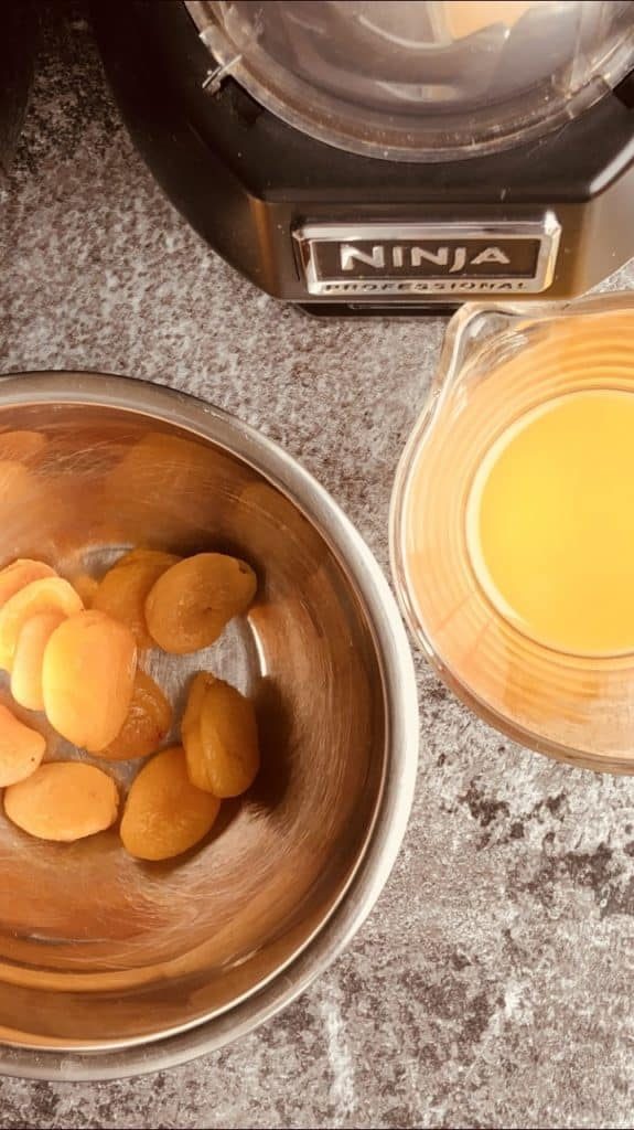Apricots for Air Fryer Cake