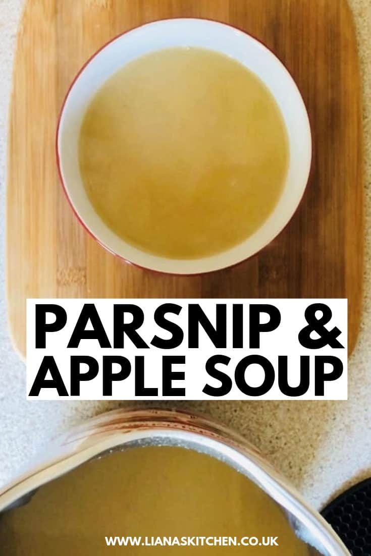 Parsnip and apple soup recipe