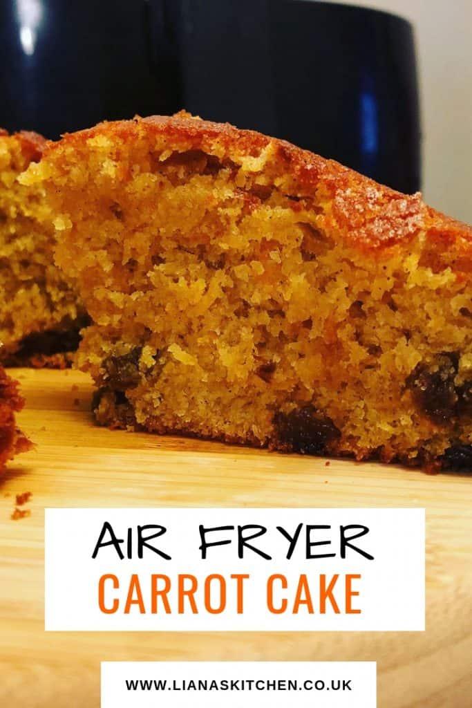 air fryer carrot cake