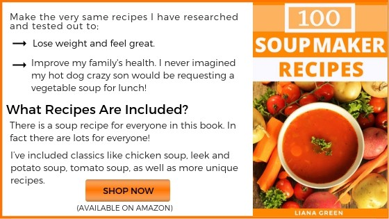 soup maker recipe book on Amazon