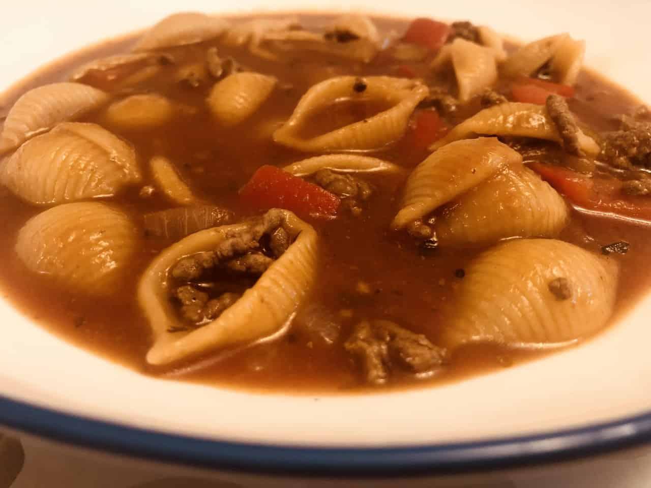 Bolognese Pasta Soup (In A Soup Maker)
