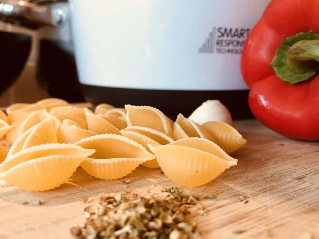 cooking pasta in a soup maker