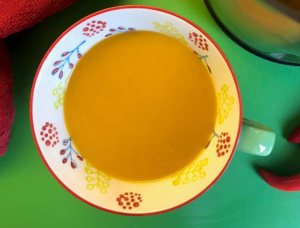 Jamaican Jerk Sweet Potato Soup Maker Recipe