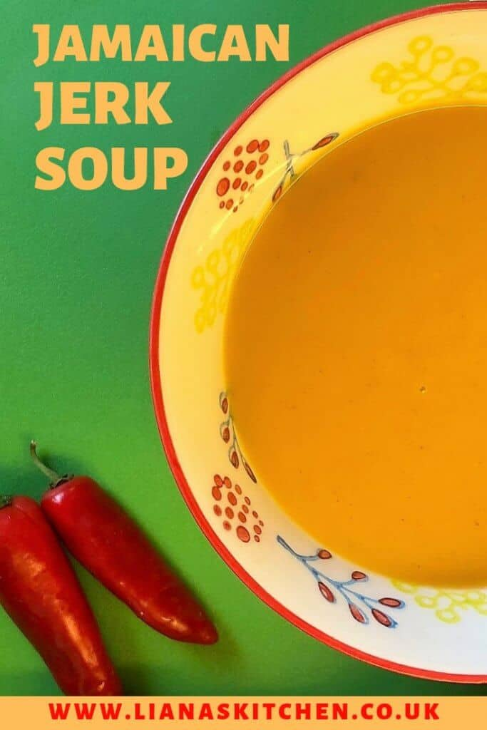 Jamaican Jerk Sweet Potato Soup In A Morphy Richards Soup Maker