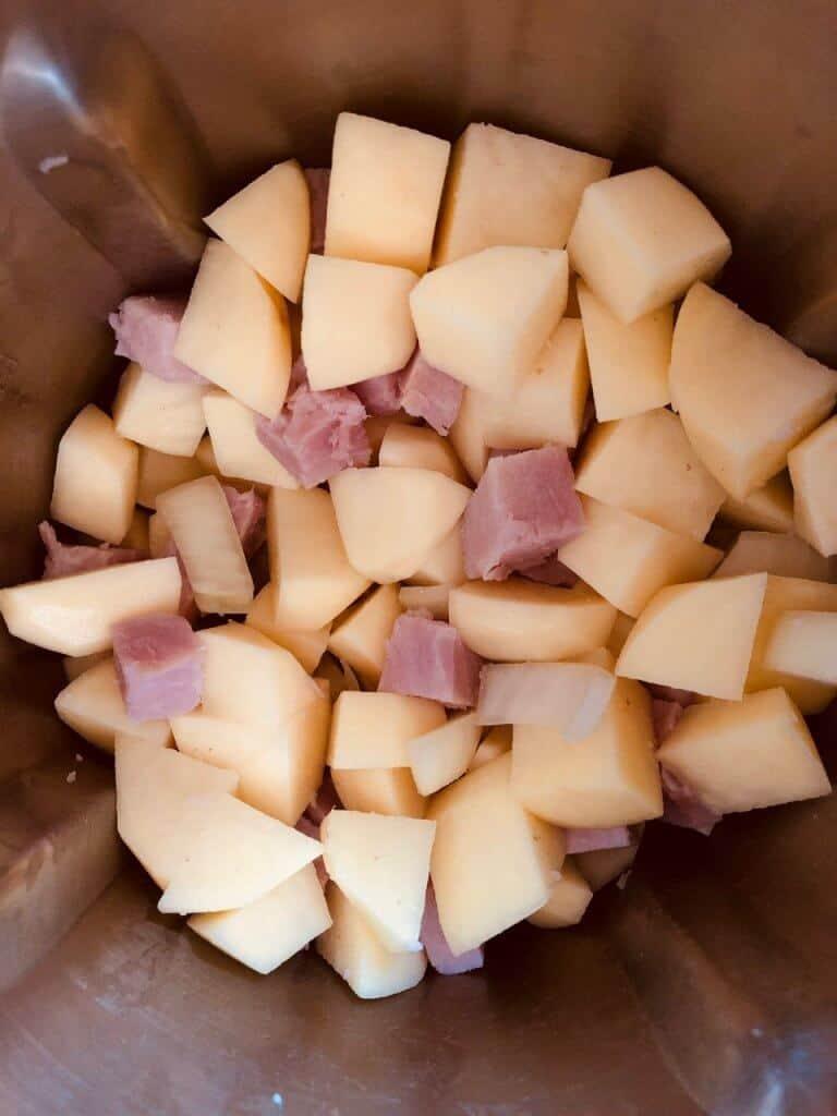 ham and potato soup ingredients
