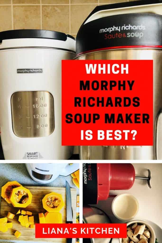Morphy Richards Soup Maker Comparison Guide