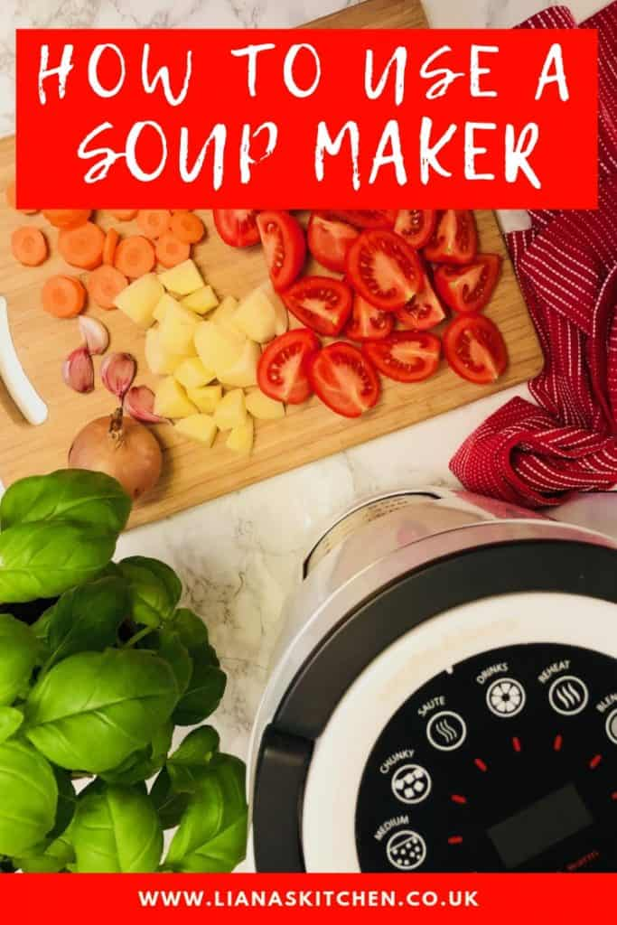 How To Use A Soup Maker