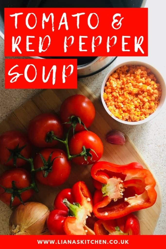 Tomato and Red Pepper Soup Pin