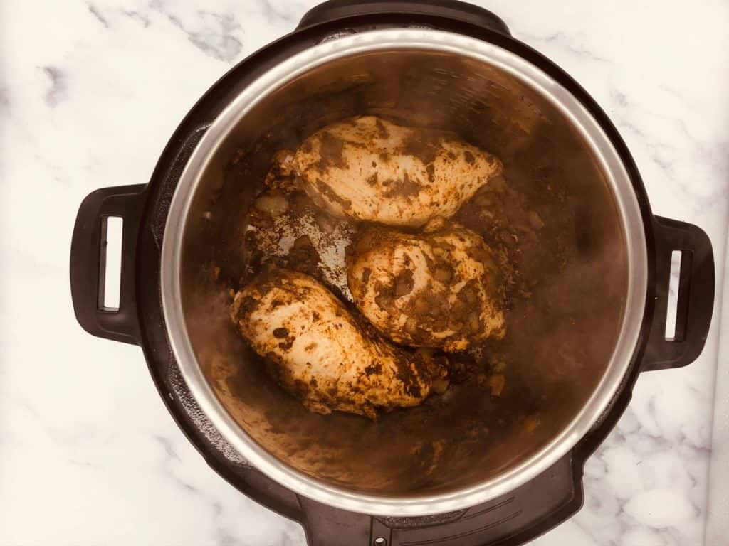 searing chicken breasts in Instant Pot