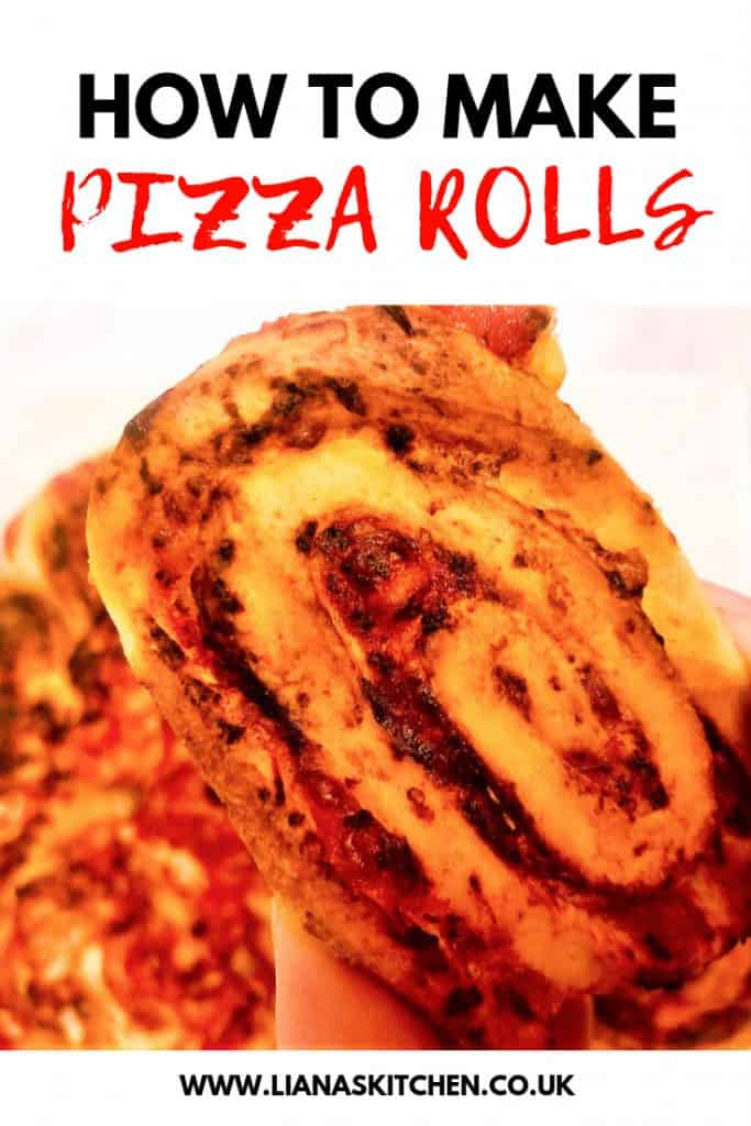 Close Up Of Pizza Roll