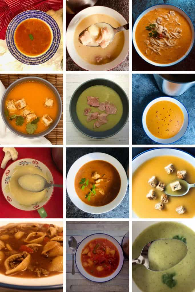 12 soups for weight loss