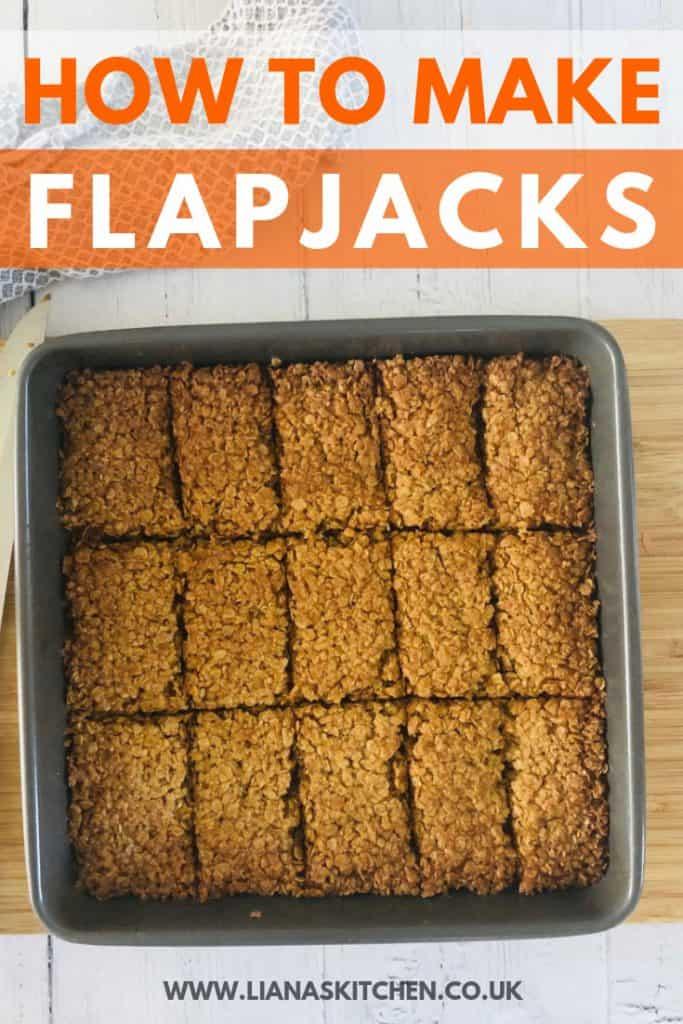 How to make flapjacks recipe