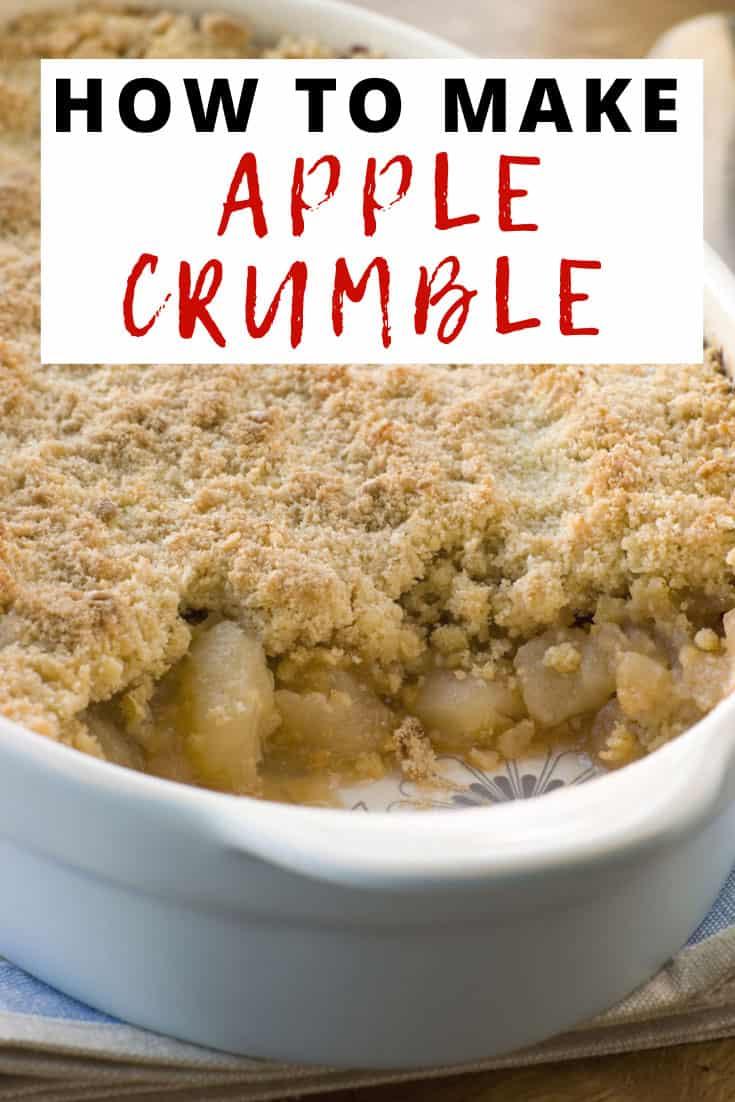 Easy Apple Crumble Recipe   Liana's Kitchen