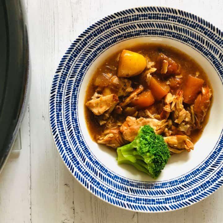 Slow Cooker Cooker Chicken Casserole