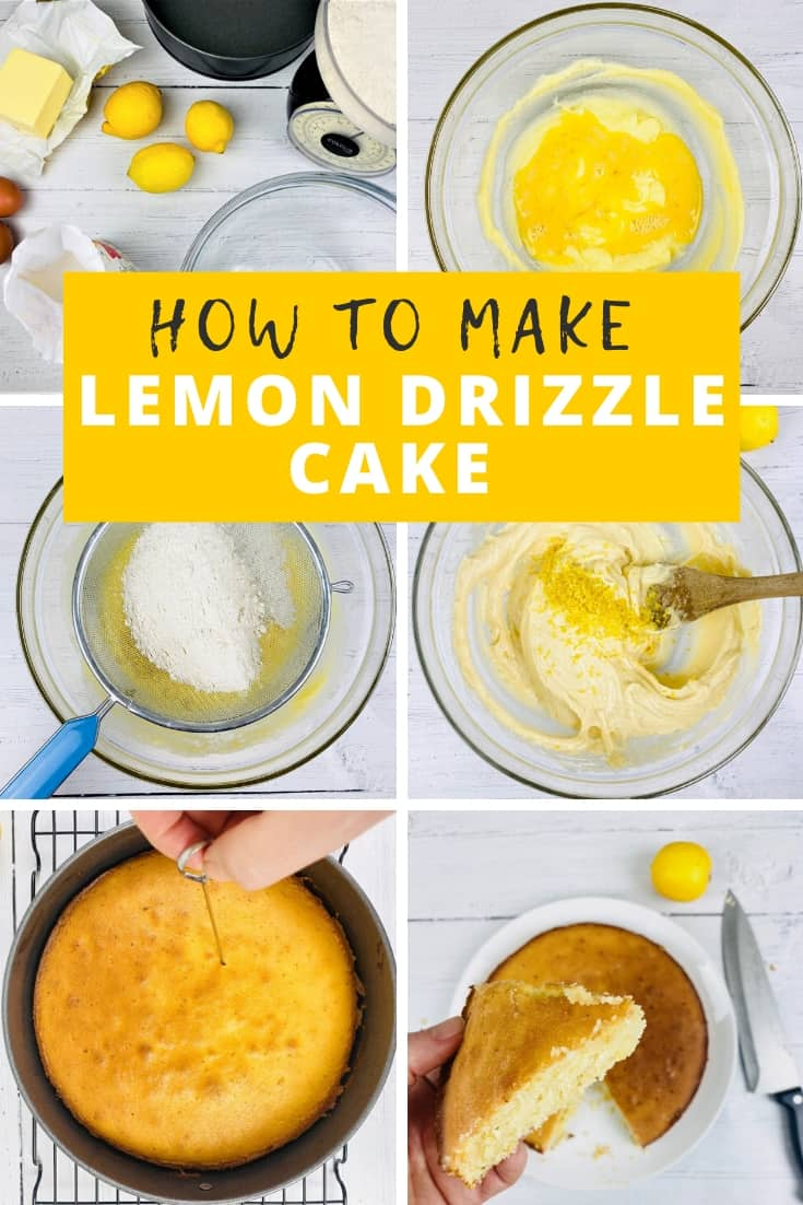 how to make lemon drizzle cake