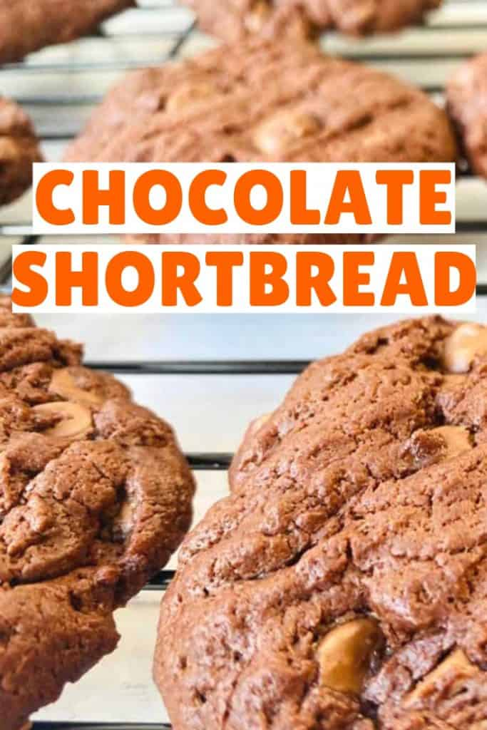 how to make chocolate shortbread