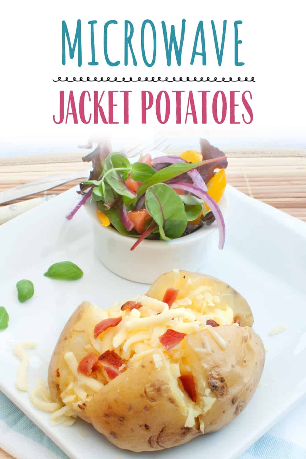 Cook Jacket Potatoes In The Microwave