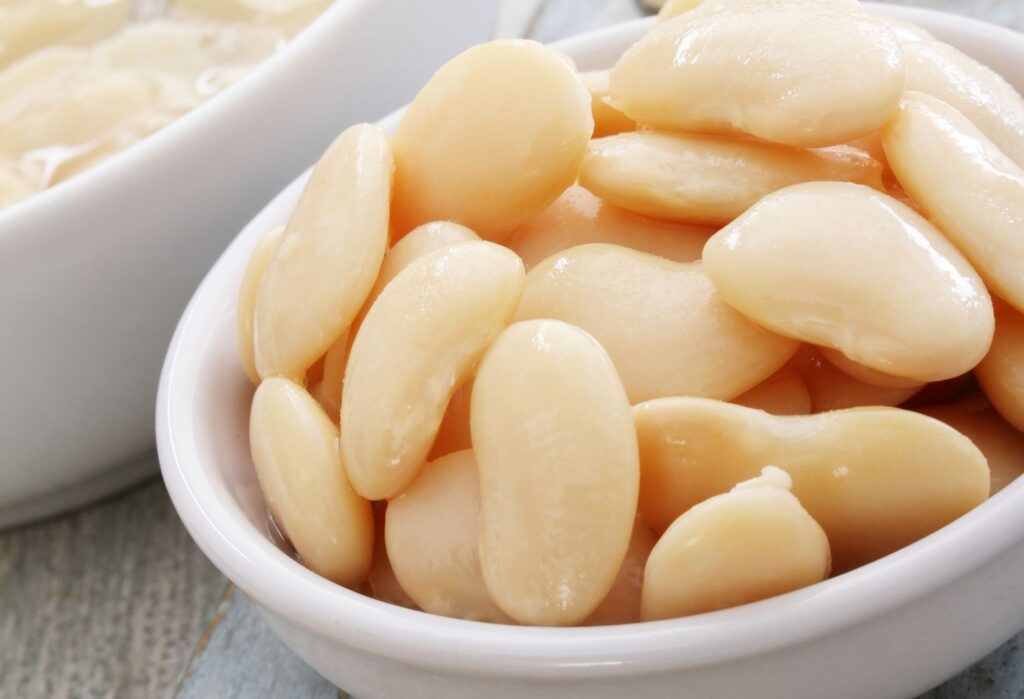 Butterbeans for Mash