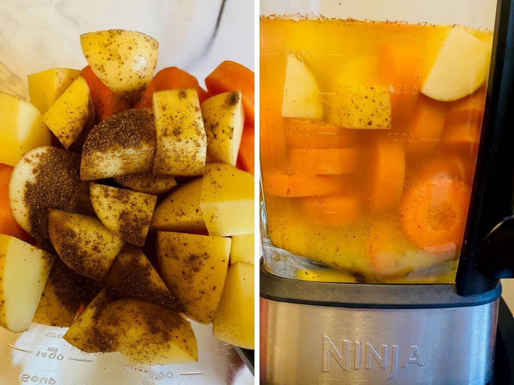 Carrot Orange Ninja Soup Maker