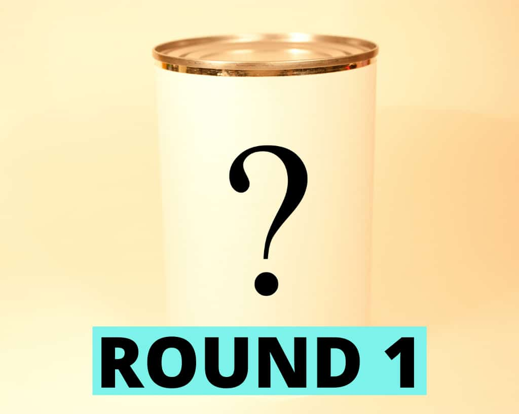 Food Quiz Questions Round 1