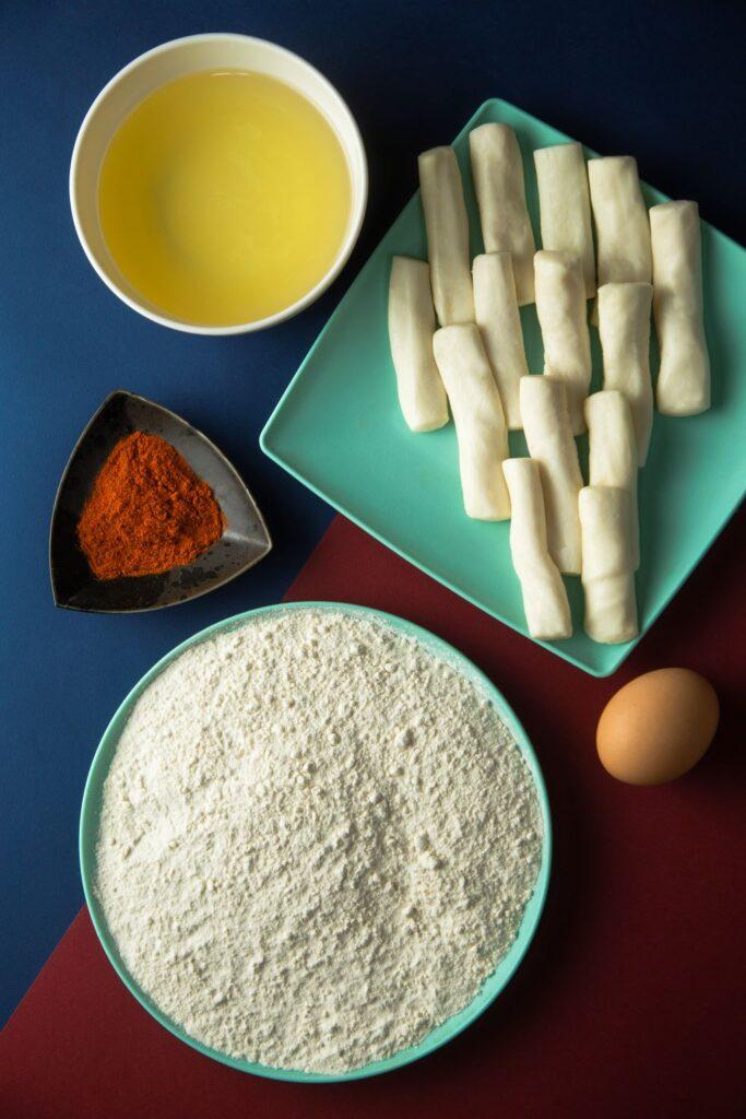 halloumi fries ingredients