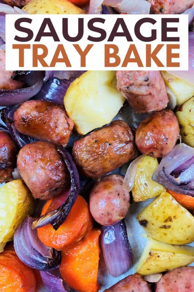 How To Make Sausage Tray Bake