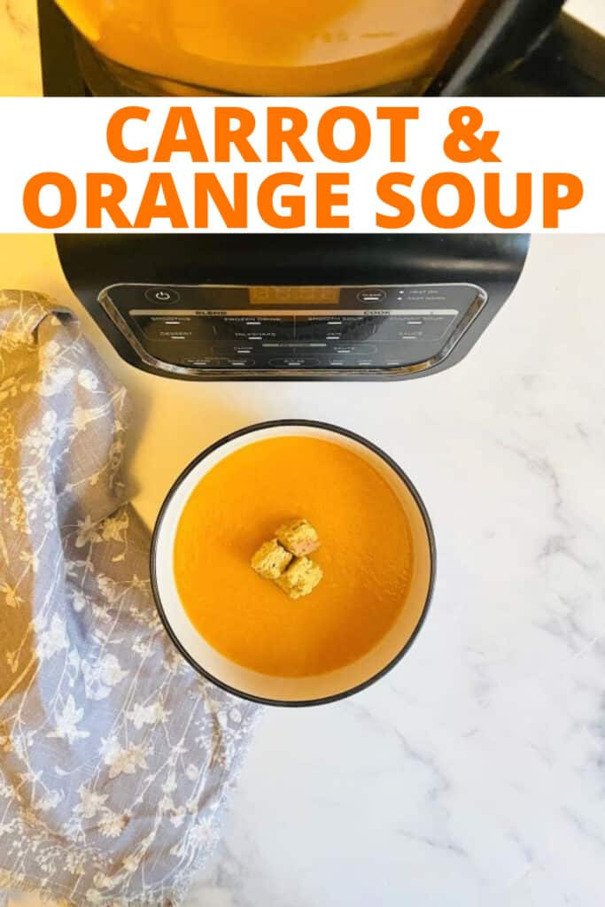 How to make carrot orange soup