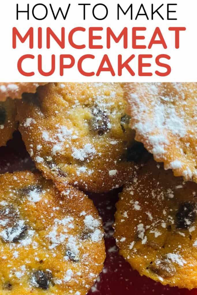 How to make mincemeat cupcakes