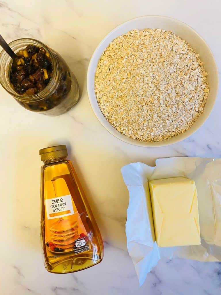 Ingredients Mincemeat Flapjacks