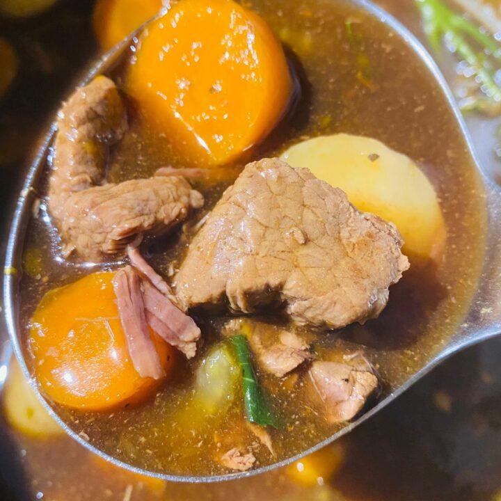 Ninja Foodi Beef Stew
