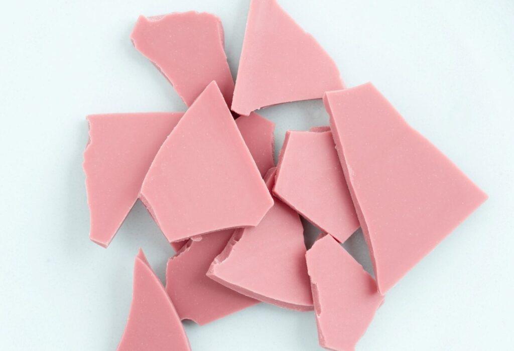 Ruby chocolate chunks