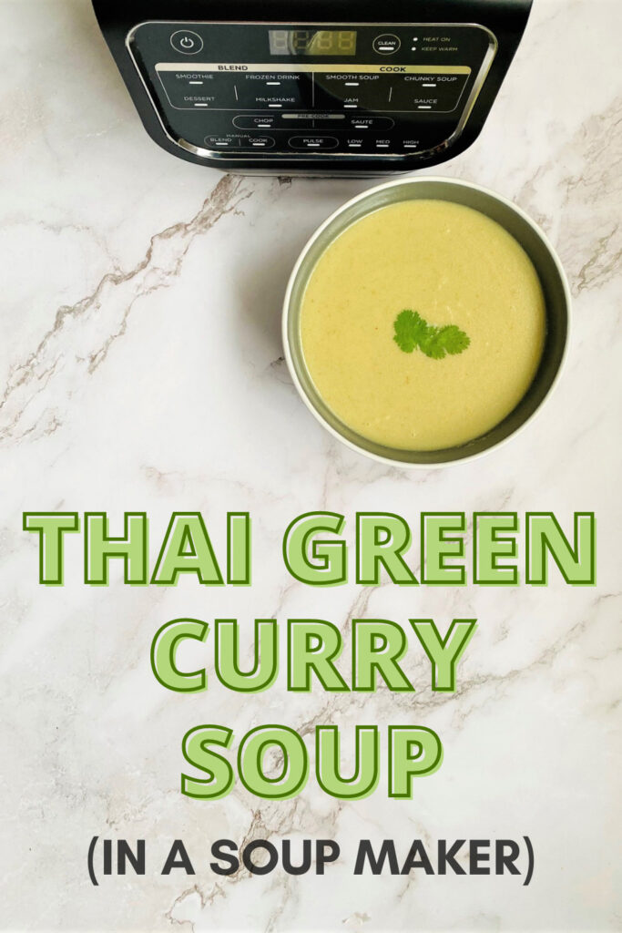 Thai Green Curry Soup Ninja Soup Maker
