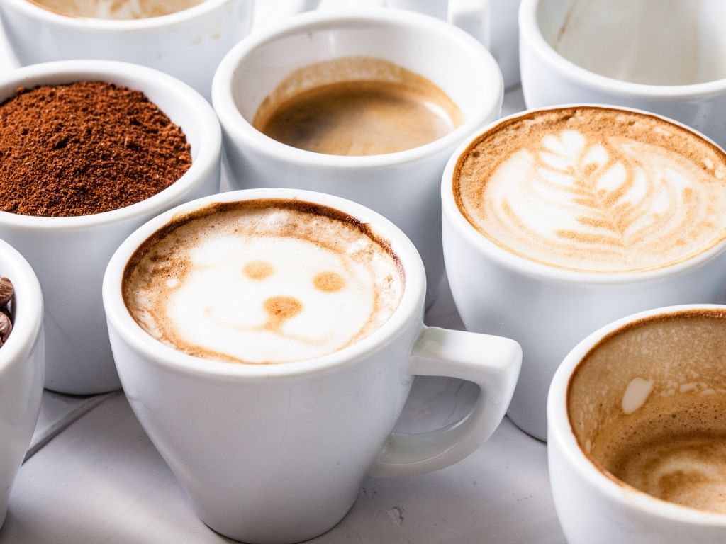 Types of Coffee Drinks