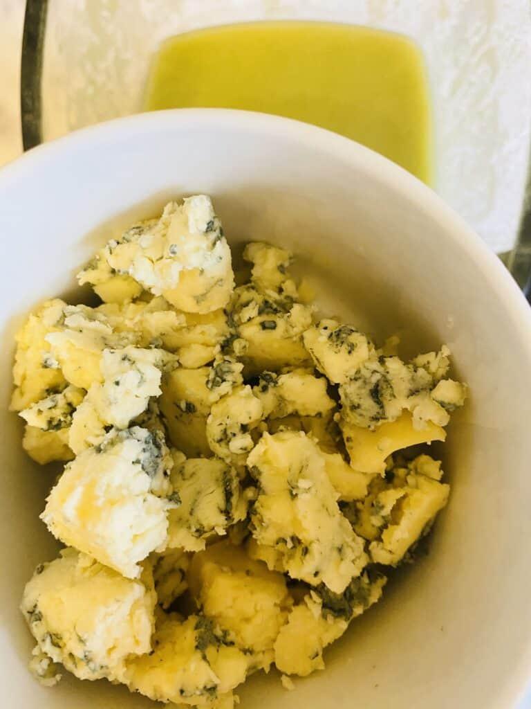 adding Stilton to Broccoli Soup