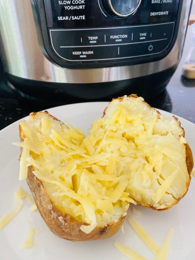 air fryer jacket potato