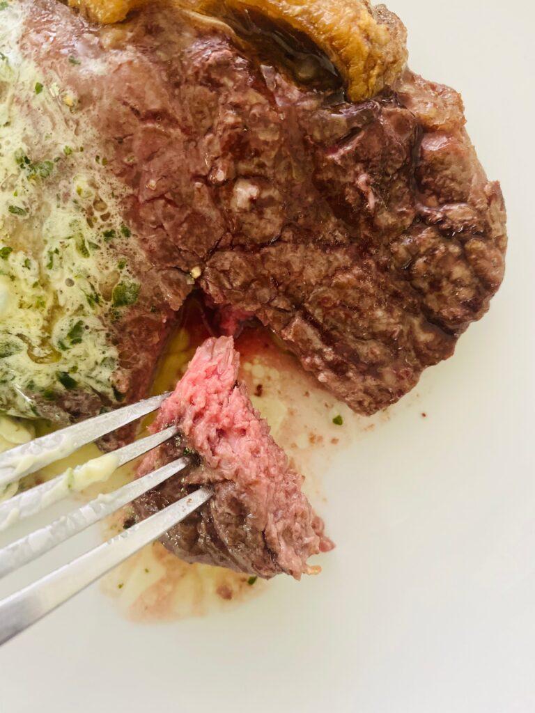 medium rare air fryer steak