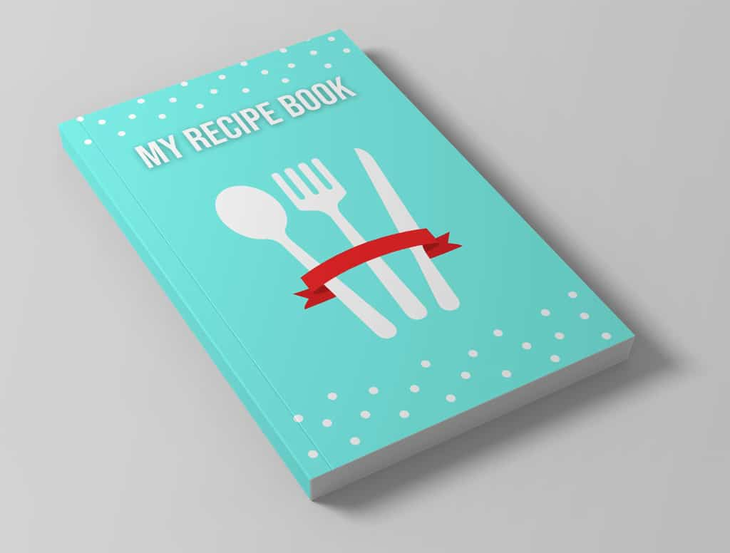 blank recipe book to record your own recipes